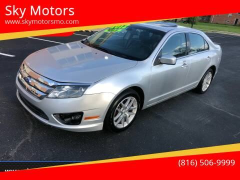 2012 Ford Fusion for sale at Sky Motors in Kansas City MO