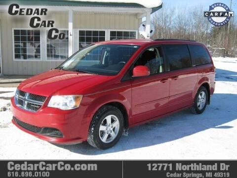 2013 Dodge Grand Caravan for sale at Cedar Car Co in Cedar Springs MI