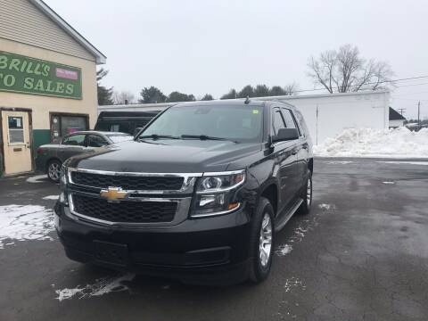 2017 Chevrolet Tahoe for sale at Brill's Auto Sales in Westfield MA