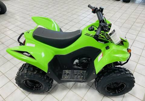 2021 Kawasaki KFX®90 for sale at Street Track n Trail in Conneaut Lake PA