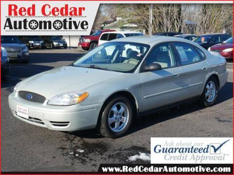 2006 Ford Taurus for sale at Red Cedar Automotive in Menomonie WI