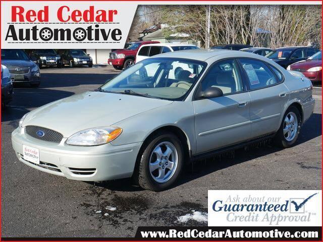 2006 Ford Taurus for sale at Red Cedar Automotive in Menomonie WI