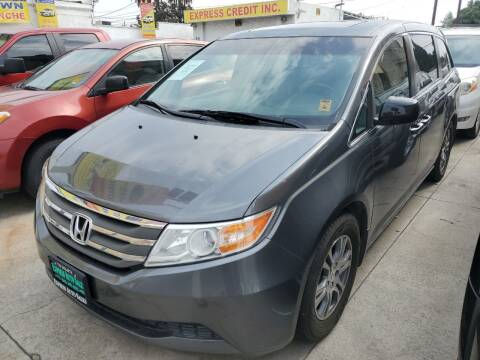 2011 Honda Odyssey for sale at Express Auto Sales in Los Angeles CA