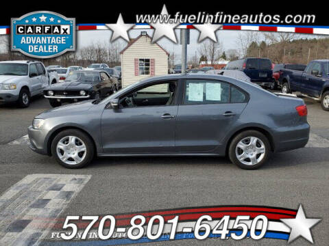 2014 Volkswagen Jetta for sale at FUELIN FINE AUTO SALES INC in Saylorsburg PA