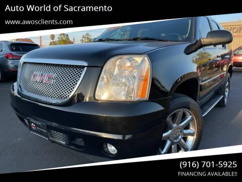 2007 GMC Yukon for sale at Auto World of Sacramento Stockton Blvd in Sacramento CA