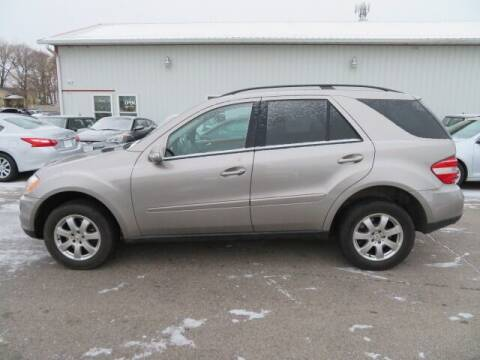 2006 Mercedes-Benz M-Class for sale at Jefferson St Motors in Waterloo IA