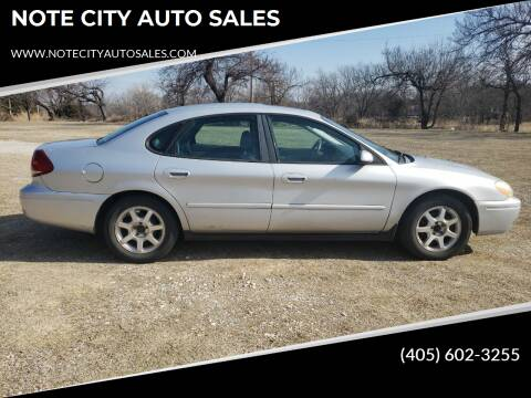 2006 Ford Taurus for sale at NOTE CITY AUTO SALES in Oklahoma City OK