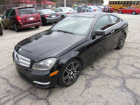 2013 Mercedes-Benz C-Class for sale at King of Auto in Stone Mountain GA