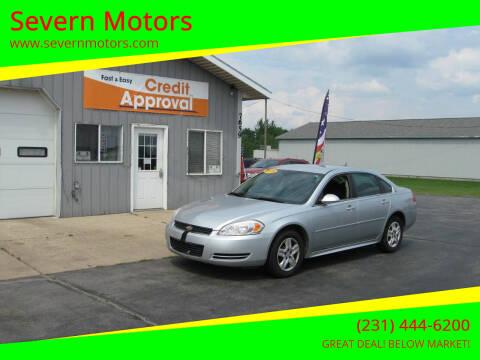 2009 Chevrolet Impala for sale at Severn Motors in Cadillac MI