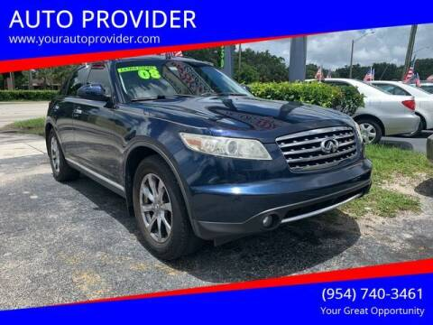 2008 Infiniti FX35 for sale at AUTO PROVIDER in Fort Lauderdale FL