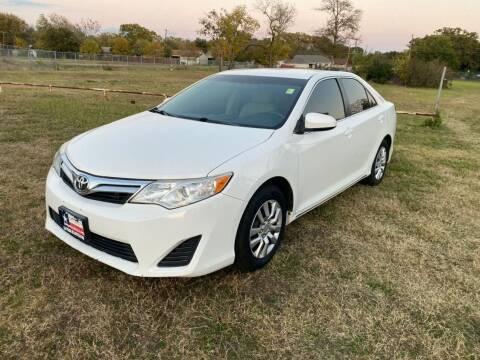 2012 Toyota Camry for sale at LA PULGA DE AUTOS in Dallas TX