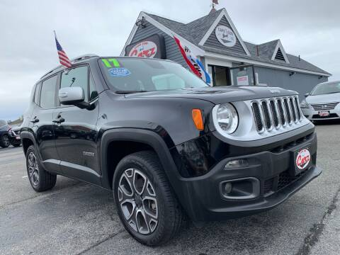 2017 Jeep Renegade for sale at Cape Cod Carz in Hyannis MA