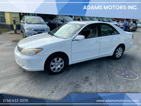 2004 Toyota Camry for sale at Adams Motors INC. in Inwood NY
