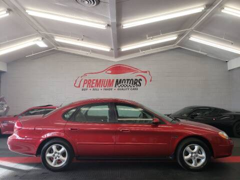 2000 Ford Taurus for sale at Premium Motors in Villa Park IL