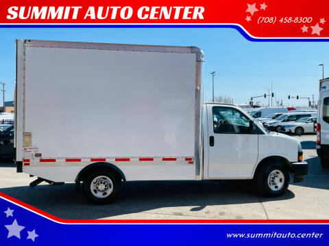 2019 Chevrolet Express Cutaway for sale at SUMMIT AUTO CENTER in Summit IL