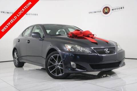 2008 Lexus IS 250 for sale at INDY'S UNLIMITED MOTORS - UNLIMITED MOTORS in Westfield IN