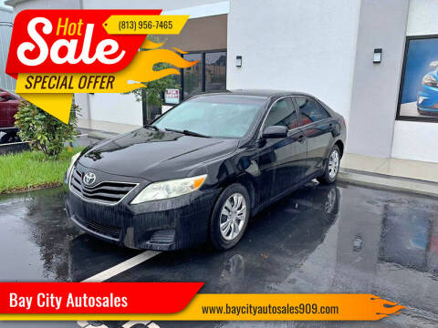 2011 Toyota Camry for sale at Bay City Autosales in Tampa FL
