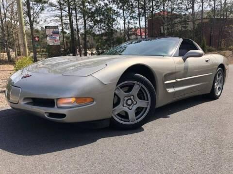 1998 Chevrolet Corvette for sale at el camino auto sales in Gainesville GA