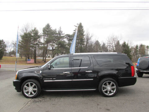 2008 Cadillac Escalade ESV for sale at GEG Automotive in Gilbertsville PA