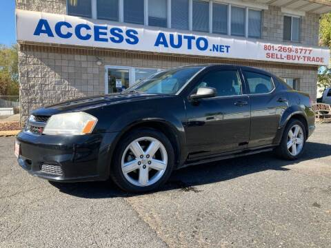 2013 Dodge Avenger for sale at Access Auto in Salt Lake City UT