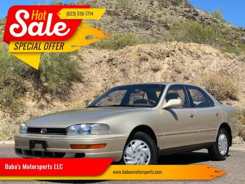 1993 Toyota Camry for sale at Baba's Motorsports, LLC in Phoenix AZ