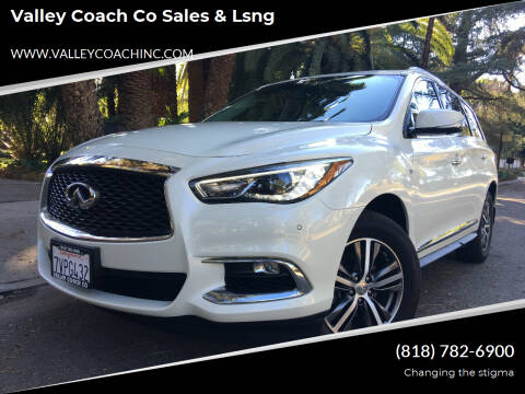 2017 Infiniti QX60 for sale at Valley Coach Co Sales & Lsng in Van Nuys CA