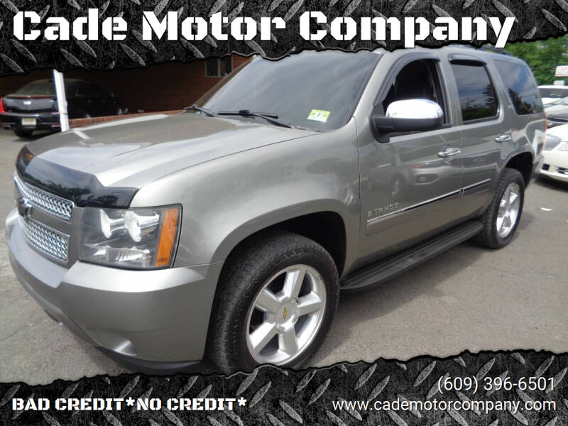 2009 Chevrolet Tahoe for sale at Cade Motor Company in Lawrenceville NJ