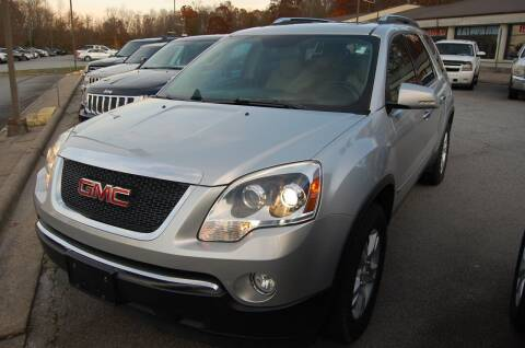 2009 GMC Acadia for sale at Modern Motors - Thomasville INC in Thomasville NC