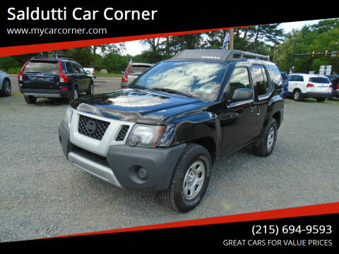 2010 Nissan Xterra for sale at Saldutti Car Corner in Gilbertsville PA