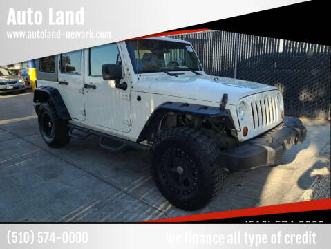 2009 Jeep Wrangler Unlimited for sale at Auto Land in Newark CA