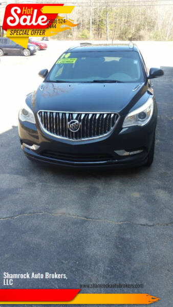 2014 Buick Enclave for sale at Shamrock Auto Brokers, LLC in Belmont NH