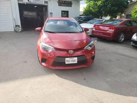 2016 Toyota Corolla for sale at Bad Credit Call Fadi in Dallas TX