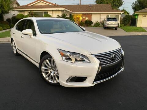 2016 Lexus LS 460 for sale at SoCal Motors in Los Alamitos CA