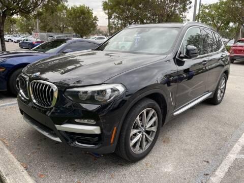 2019 BMW X3 for sale at DORAL HYUNDAI in Doral FL