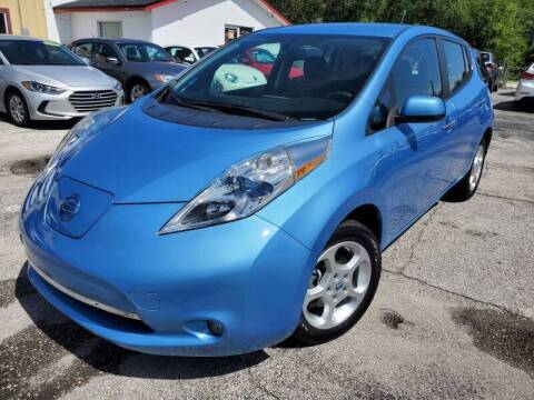 2013 Nissan LEAF for sale at Mars auto trade llc in Kissimmee FL