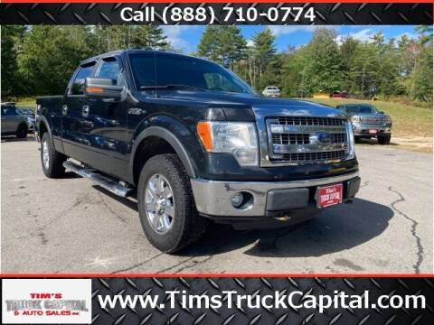 2013 Ford F-150 for sale at TTC AUTO OUTLET/TIM'S TRUCK CAPITAL & AUTO SALES INC ANNEX in Epsom NH