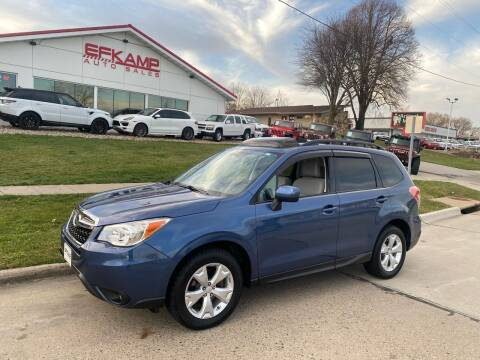 2014 Subaru Forester for sale at Efkamp Auto Sales LLC in Des Moines IA