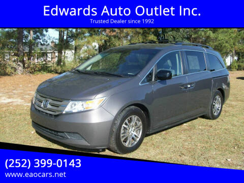 2013 Honda Odyssey for sale at Edwards Auto Outlet Inc. in Wilson NC