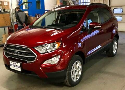 2020 Ford EcoSport for sale at Reinecke Motor Co in Schuyler NE