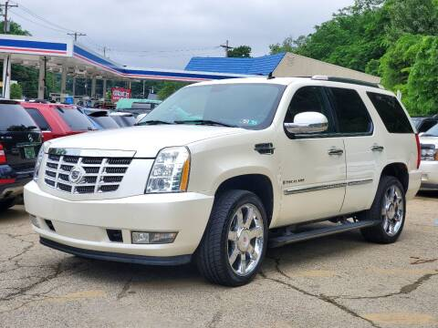2008 Cadillac Escalade for sale at FAYAD AUTOMOTIVE GROUP in Pittsburgh PA