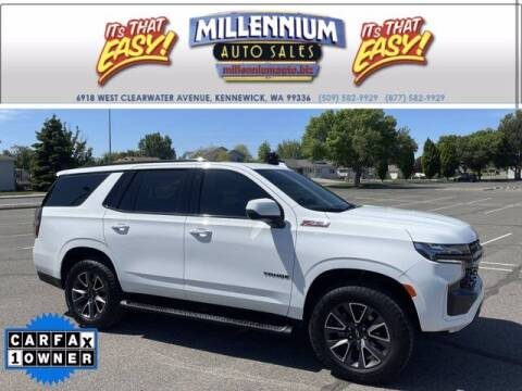 2021 Chevrolet Tahoe for sale at Millennium Auto Sales in Kennewick WA