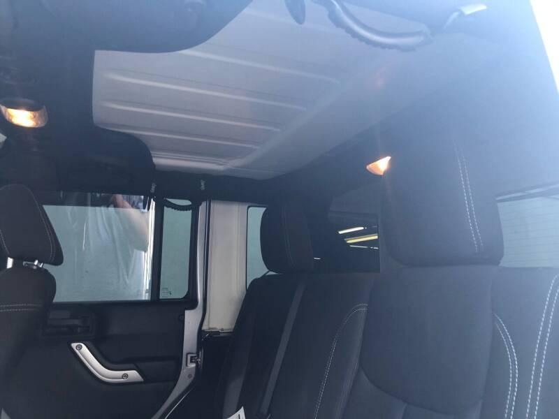 2013 Jeep Wrangler Unlimited 4x4 Sahara 4dr SUV - Roselle NJ