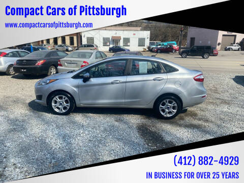 2015 Ford Fiesta for sale at Compact Cars of Pittsburgh in Pittsburgh PA