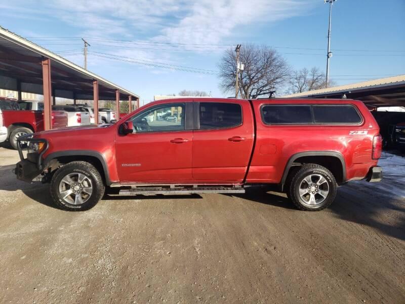 2015 Chevrolet Colorado for sale at Faw Motor Co in Cambridge NE