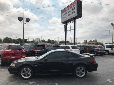 2002 Ford Mustang for sale at United Auto Sales in Oklahoma City OK