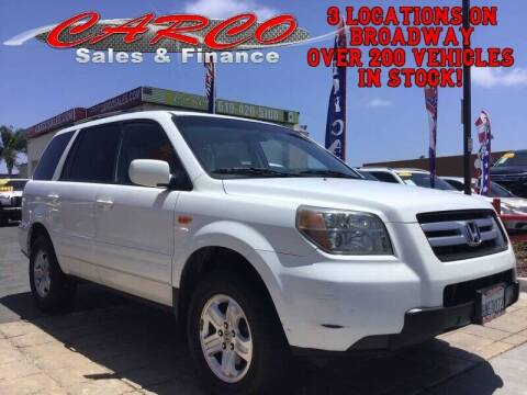 2008 Honda Pilot for sale at CARCO SALES & FINANCE - Under 7000 in Chula Vista CA