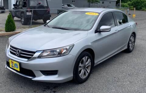 2013 Honda Accord for sale at BORGES AUTO CENTER, INC. in Taunton MA