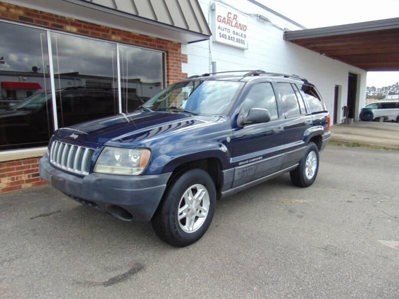 2004 Jeep Grand Cherokee for sale at CR Garland Auto Sales in Fredericksburg VA