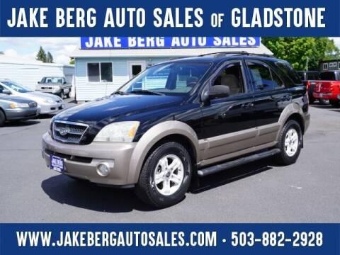 2004 Kia Sorento for sale at Jake Berg Auto Sales in Gladstone OR