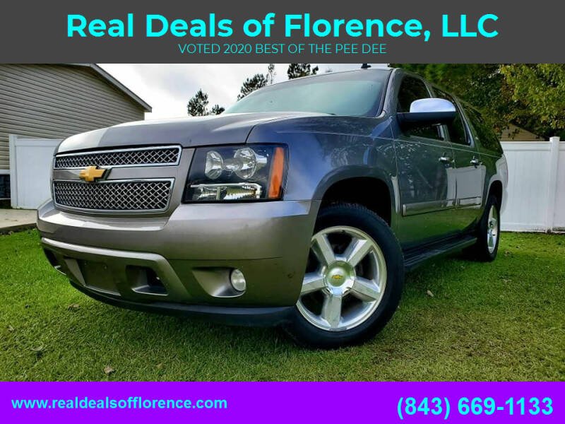 2008 Chevrolet Suburban for sale at Real Deals of Florence, LLC in Effingham SC